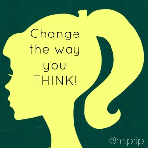 change the way you think silhouette