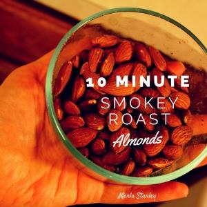 DIY Smokey Almonds